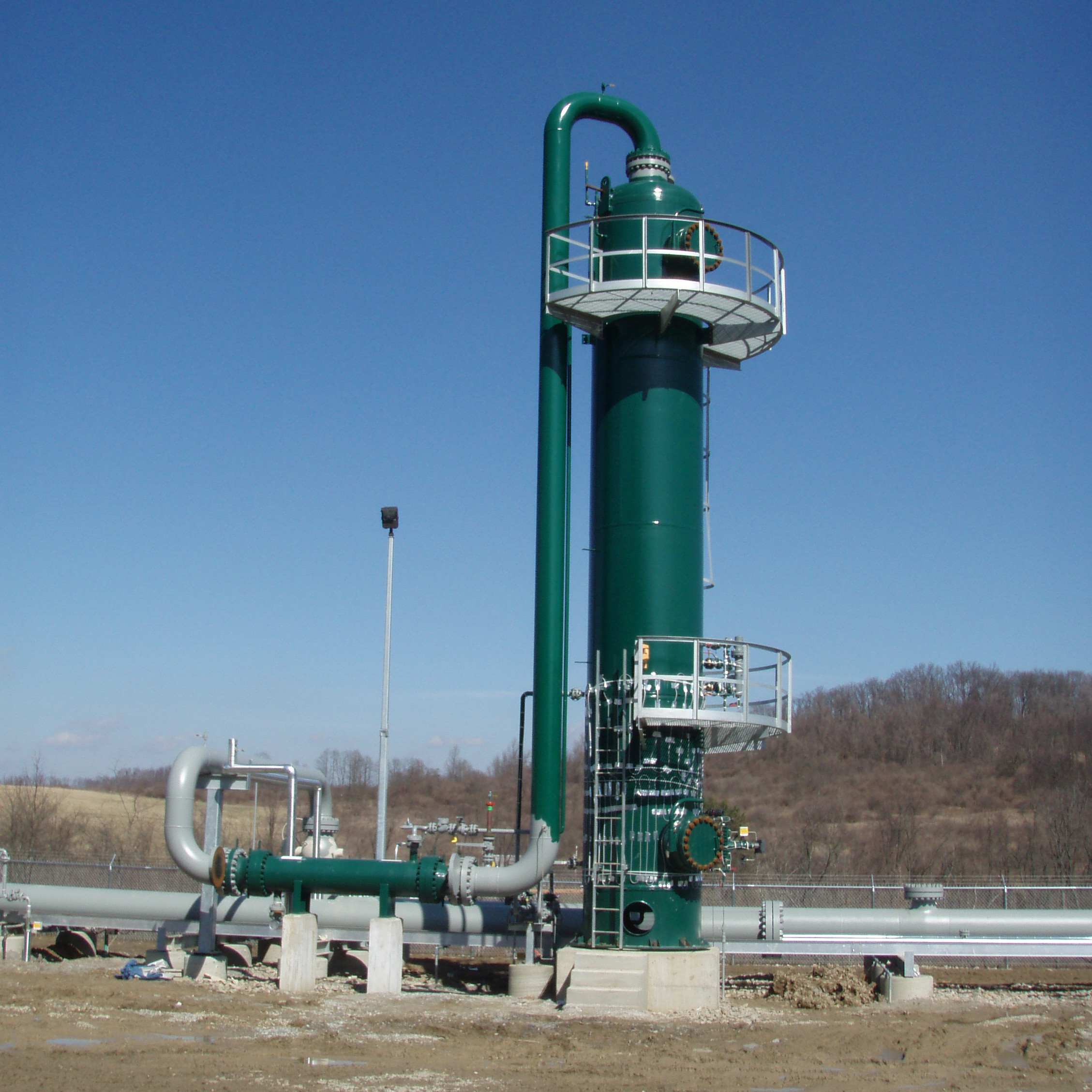 200 MMSCFD TEG Contactor & Gas/TEG Exchanger