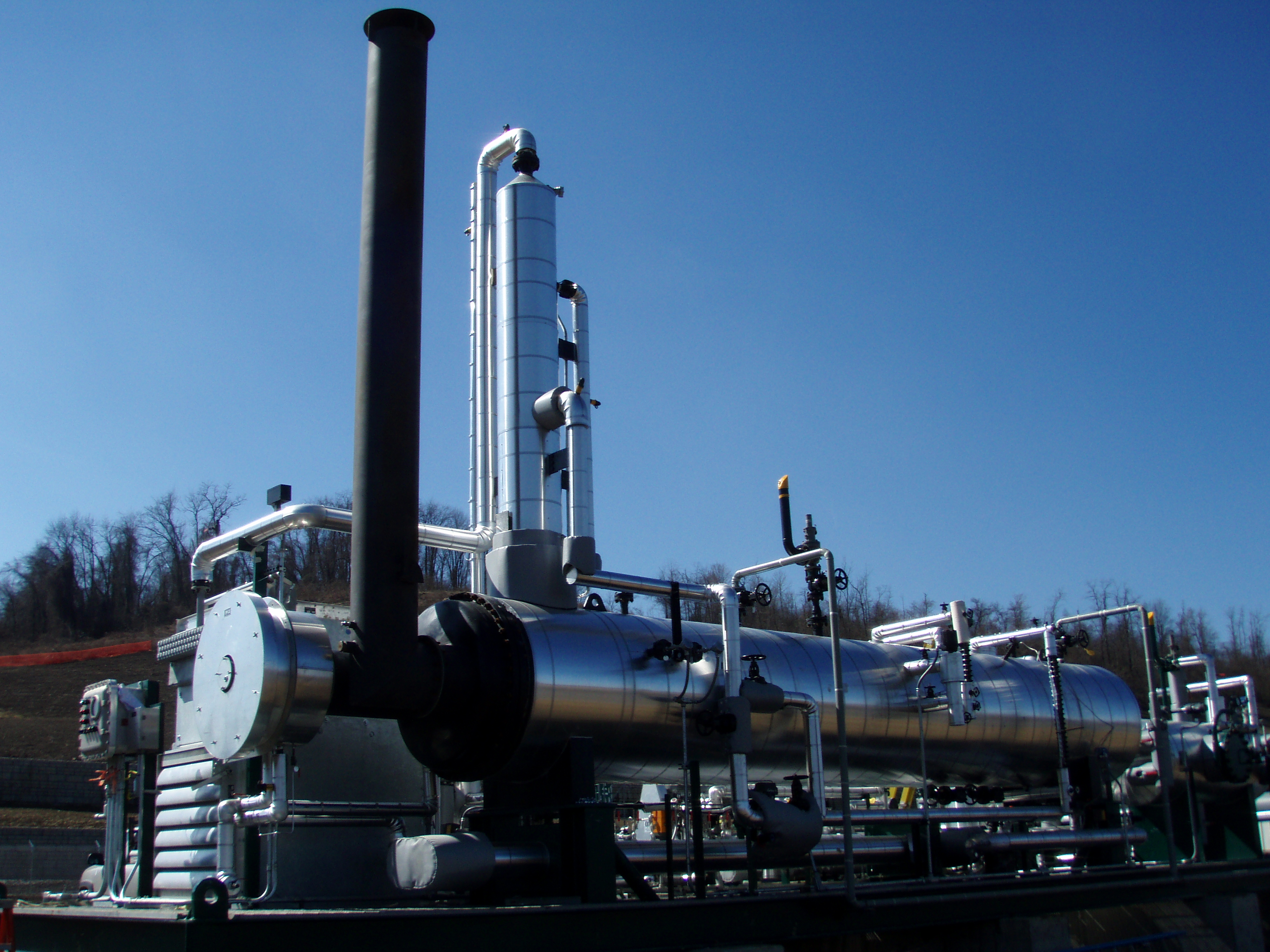 18 GPM TEG Regenerator at Marcellus Shale Compressor Station