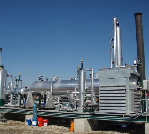 Zero Emission Glycol Regenerator