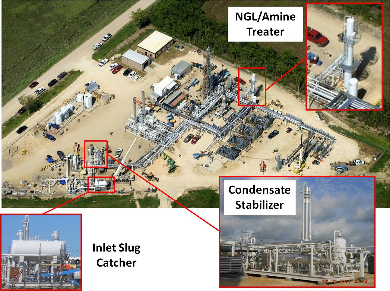 East Texas Gas Plant Expansion
